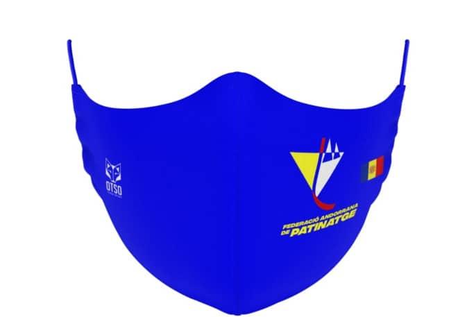 Mascareta Federació Andorrana de Patinatge