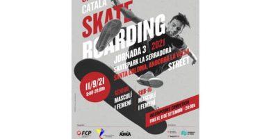 Cartell skate 2021 Andorra