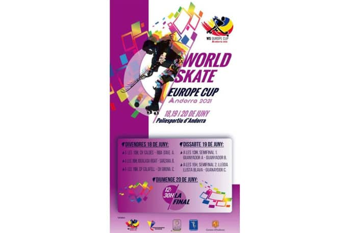Cartell Promocional WS Europe Cup Andorra 2021